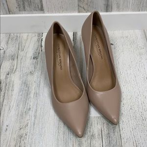 Champaign Heels Size 9